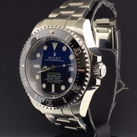 Rolex Deepsea Sea-Dweller 44mm D-Blue Dial 116660 Stainless Steel with Papers