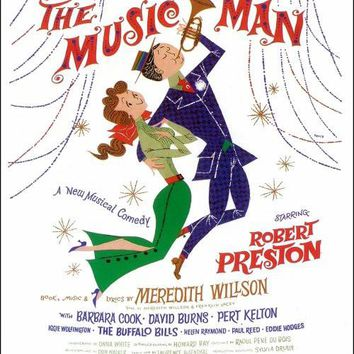 The Music Man 14x22 Broadway Show Poster (1957)