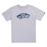 Vans Boys OTW Checker Fill Tee (Athletic Heather/Classic Blue/Black)