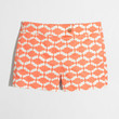 """Factory 3"""" printed stretch chino short : Shorts 