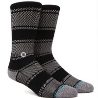 Stance Chicklet Crew Socks - Mens Socks - Black - One