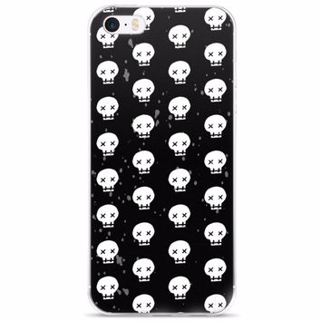 Skulls Everywhere iPhone 5/5s/Se, 6/6s, 6/6s Plus Case