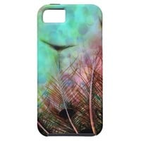 Pastel Peacock Feathers iPhone SE/5/5s Case