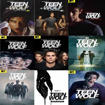 Teen Wolf DVD Complete Series Set
