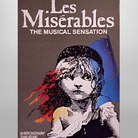 Buy Les Miserables on Broadway Poster | The Broadway Store