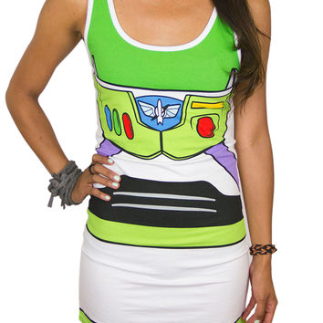 Toy Story Buzz Lightyear Tank Dress