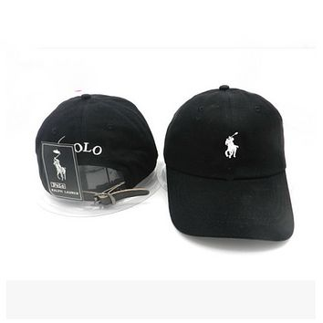 Perfect Polo Ralph Lauren Women Men Embroidery Sport Sunhat Baseball Cap Hat