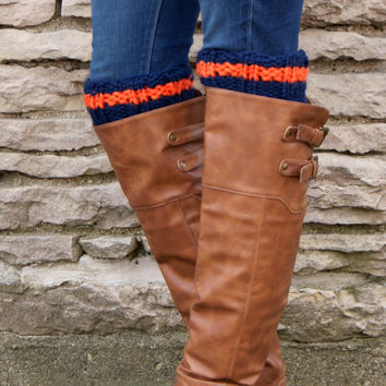 Sports Team Boot Cuffs, Boot Toppers