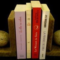 BoGaLeCo.com / Decorative objects / Reclaimed wood / Press book / Wood and Roller Presses books