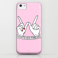 WHATEVER FOREVER iPhone & iPod Case by Sara M Lyons