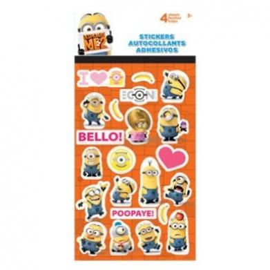 Despicable Me 2 Minions Standard Stickers from Amazon ...