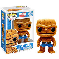 Funko POP! Heroes Vinyl Bobble-Head - Marvel  - THING (4 inch) (Pre-Order ships TBD): BBToyStore.com - Toys, Plush, Trading Cards, Action Figures & Games online retail store shop sale