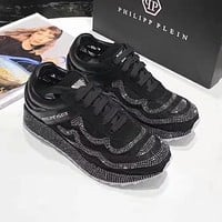 Philipp Plein Women Fashion Casual Sneakers Sport Shoes