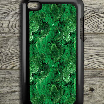 Malachite Stone iPod 4 Touch Case