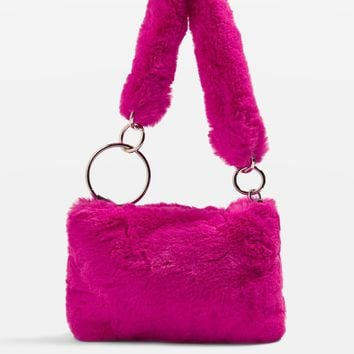 TEDDY Faux Fur Shoulder Bag | Topshop