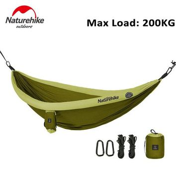 NatureHike Portable Tree Hammock For 2 Person High Strength Outdoor Camping Hanging Ultralight Hammock Mesh alone