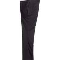 H&M - Suit Pants Regular fit - Black - Men