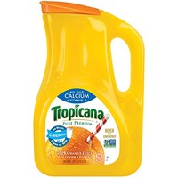 Tropicana, Orange Juice with Calcium + Vitamin D, No Pulp, 89 oz
