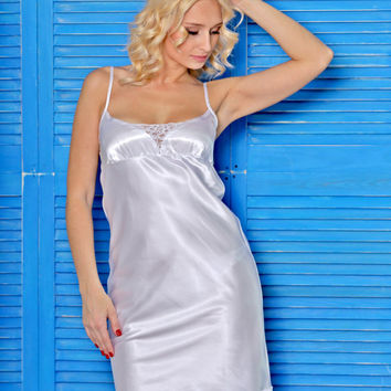 Shop White Bridal Nightgowns on Wanelo bd6462597