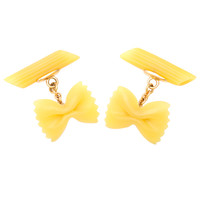Incredible Pasta Cufflinks, Michael Kanners