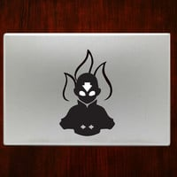 "Avatar Aang The Last Airbender m763 Decal Sticker Vinyl For Macbook Pro Air Retina 13"" 15"" Inches Laptop Cover"