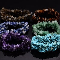 Multilayer Gemstone Bracelet