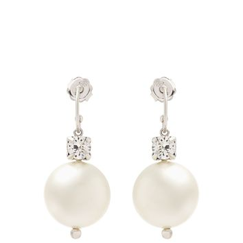 Faux-pearl and crystal drop earrings | Simone Rocha | MATCHESFASHION.COM