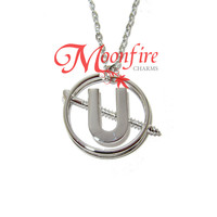 GHOSTBUSTERS Holtzmann's Screw U Pendant Necklace
