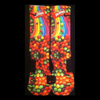 Skittles Custom Nike Elite Socks