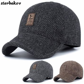 Trendy Winter Jacket Quick-drying casual snapback men baseball cap hat cap full performance bone casquette hats 2017 new  hat visor la AT_92_12