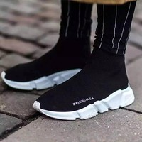 Balenciaga Woman Men Boots Fashion Breathable Sneakers Running Shoes