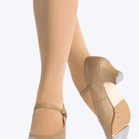 "Free Shipping - Leather Adult ""Jr. Footlight"" 1.5"" Heel Tap Shoe by CAPEZIO"