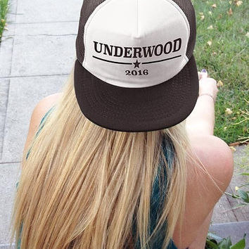 Underwood 2016 | Presidential Snapback hat
