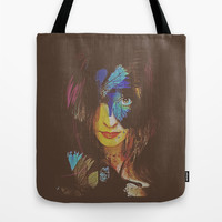 Chrysalis Tote Bag by Galen Valle