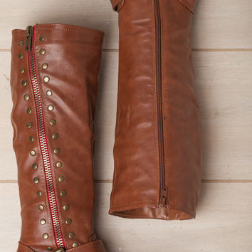 No Looking Back Chestnut Boot