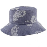 Kids Ponytail Cap by Millymook and Dozer: Charlie Blue