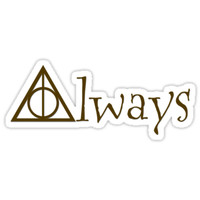 """Always"" Sticker by JennDePaolaArt"