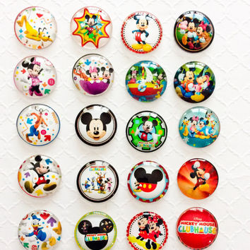 Disney Cruise Magnets, DCL, Fish Extended Gift, Mickey Mouse Magnets, Disney World, Mickey Party Favors,Disney Magnet Set, Mickey Mouse