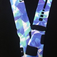 LeBron X Prism Nike Elite Socks from GotElites