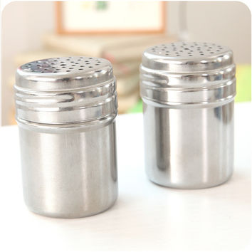 Kitchen Stainless Stainless Steel Salt And Pepper Grinders = 4877874244