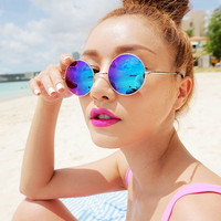 Round Mirror Sunglasses | FashionShop【STYLENANDA】