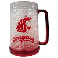 Washington State Cougars Crystal Freezer Mug