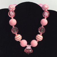 The Pink Diamond Chunky Necklace