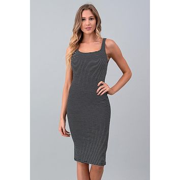 Extended Weekend Midi Dress - Black