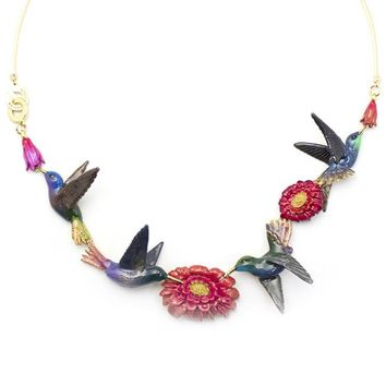 Humming Melody Statement Necklace