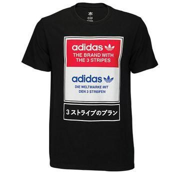 adidas Originals Graphic T-Shirt - Men's at Champs Sports
