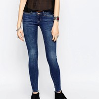 Noisy May | Noisy May Kate Super Low Rise Skinny Jean at ASOS