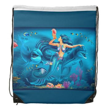 Underwater Drawstring Bag