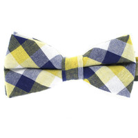 Tok Tok Designs Formal Dog Bow Tie for Medium & Large Dogs (B19, 100% Cotton)