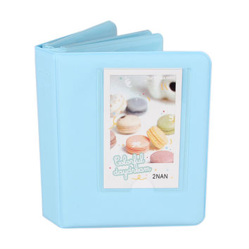 Lovely 64 Pockets Photo Autograph 3 Inches Picture Case with Gifts for Fujifilm Instax Mini 8 7s 25 50s 90 Camera Accessories